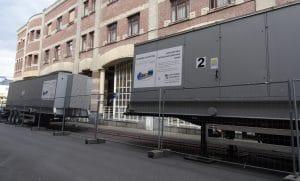 mobiele UPS voor ziekenhuis